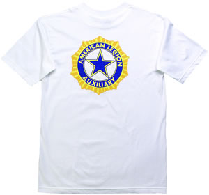 Auxiliary Emblem T Shirt American Legion Flag Amp Emblem