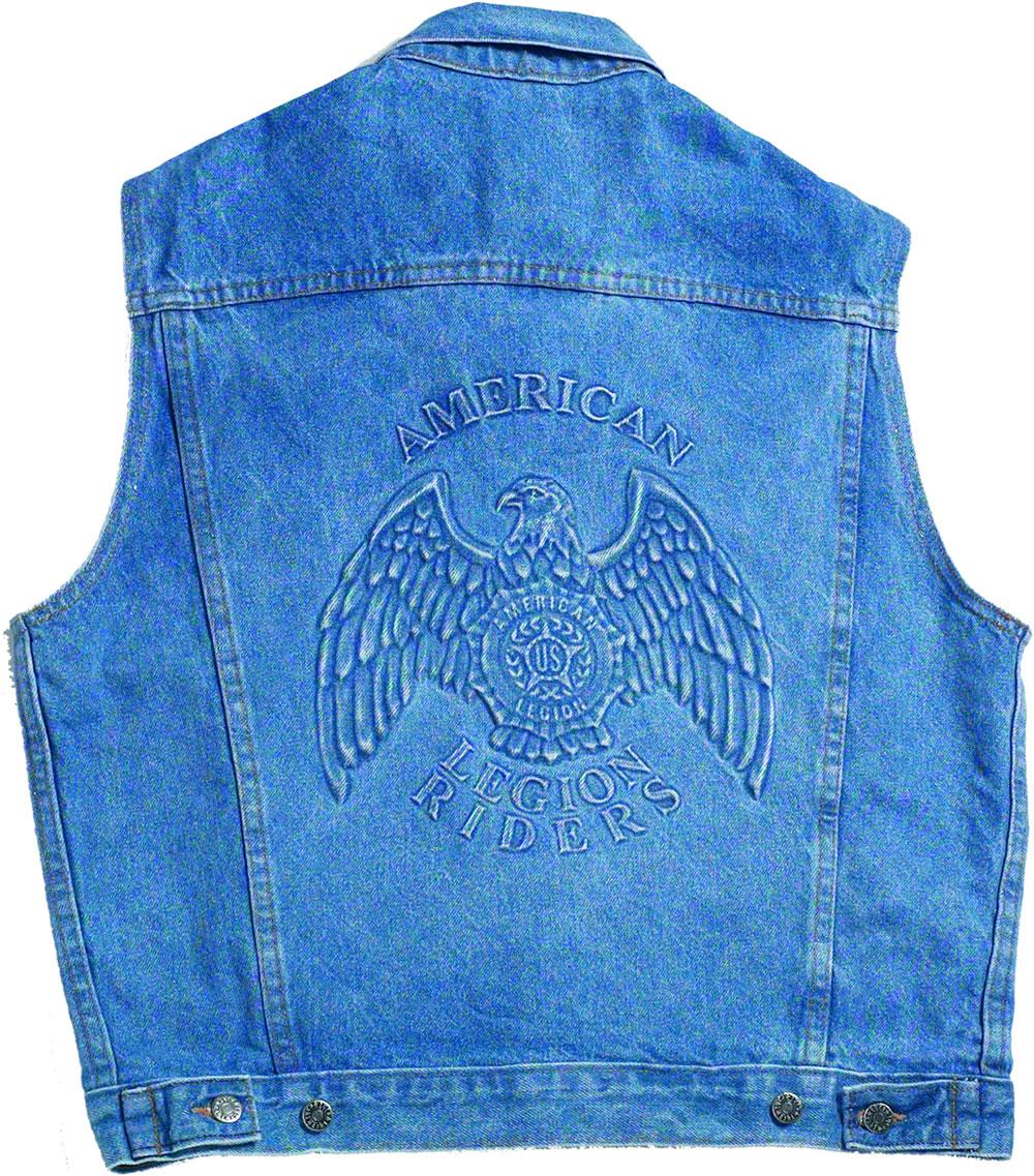 Legion Riders Denim Vest American Legion Flag Amp Emblem