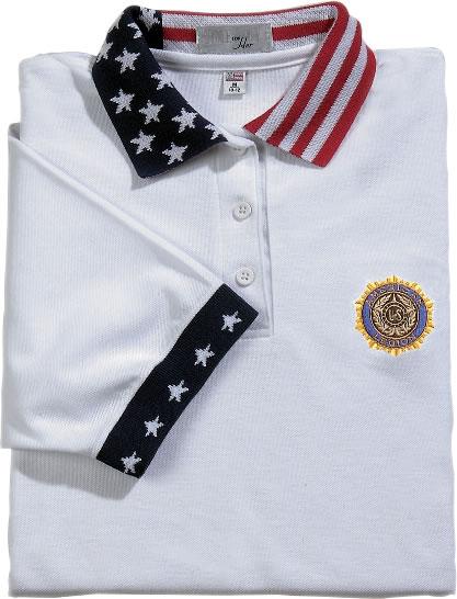 Legion Stars And Stripes Polo Women S American Legion