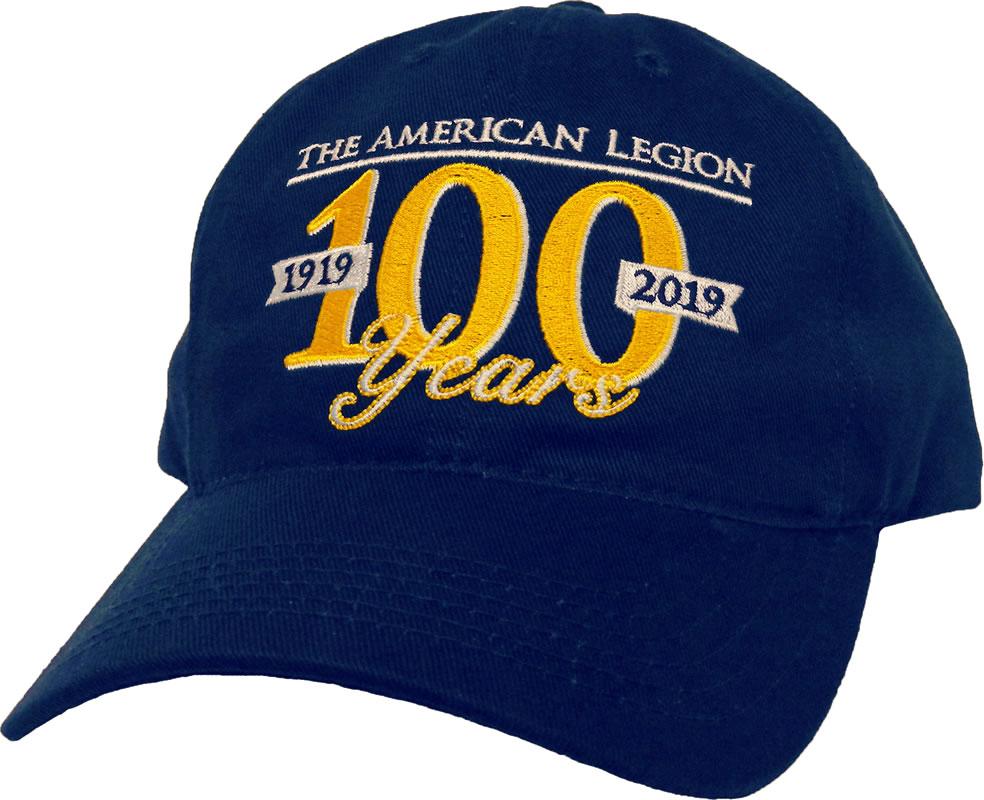 Centennial Cap American Legion Flag Amp Emblem