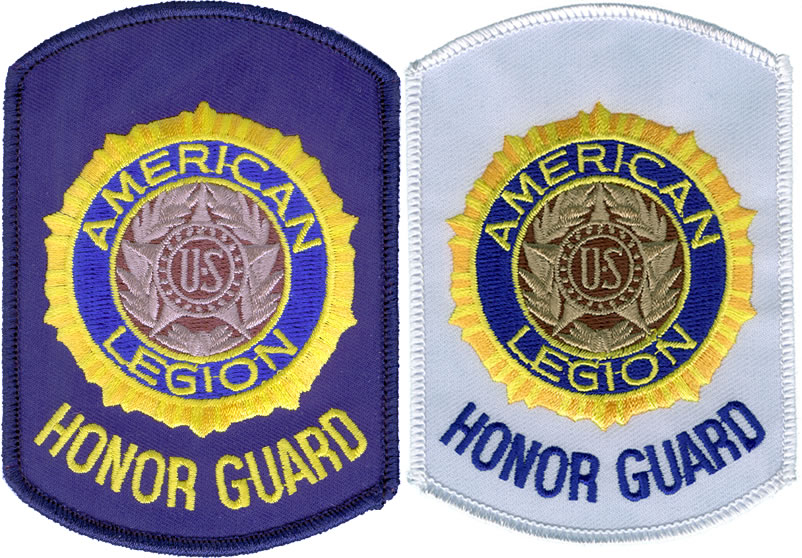 Honor Guard Shoulder Patch American Legion Flag Amp Emblem
