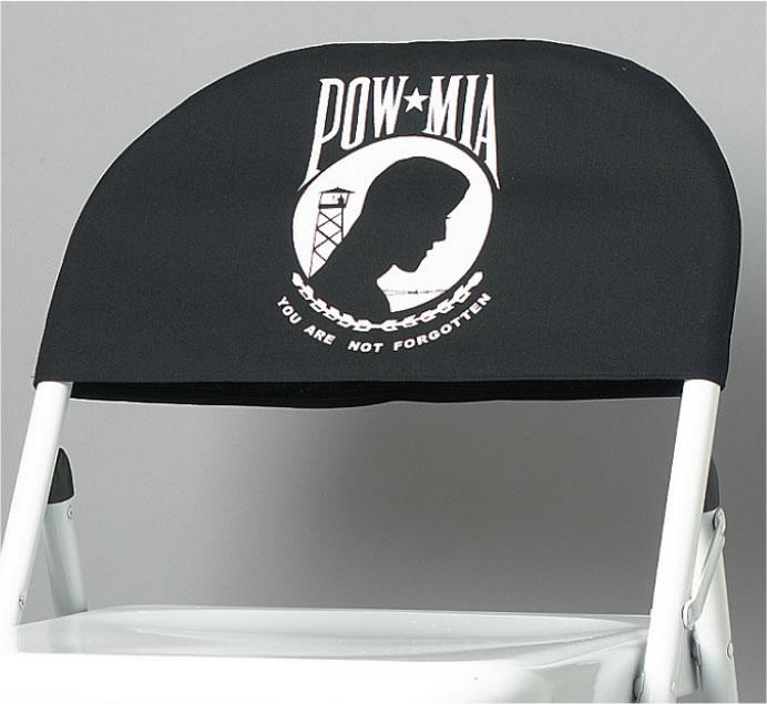 powmia chair cover - Pow Mia Hat