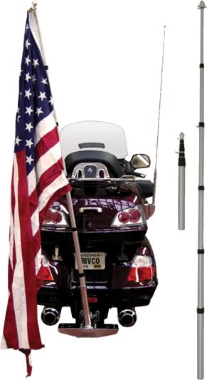 Bike Telescoping Flagpole American Legion Flag Amp Emblem
