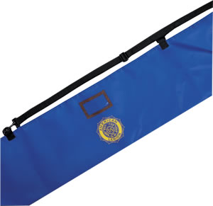 Legion Emblem Flag and Pole Carrying Case