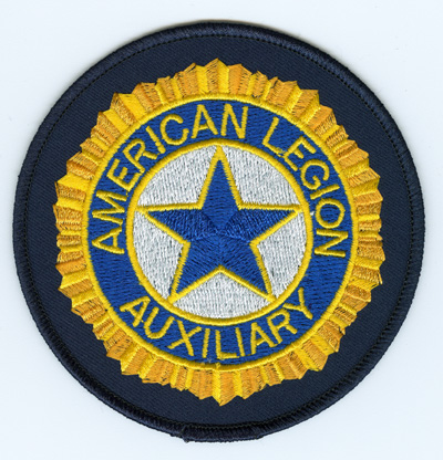 embroidered auxiliary emblem american legion flag emblem rh emblem legion org american legion auxiliary logo vector american legion auxiliary logo vector