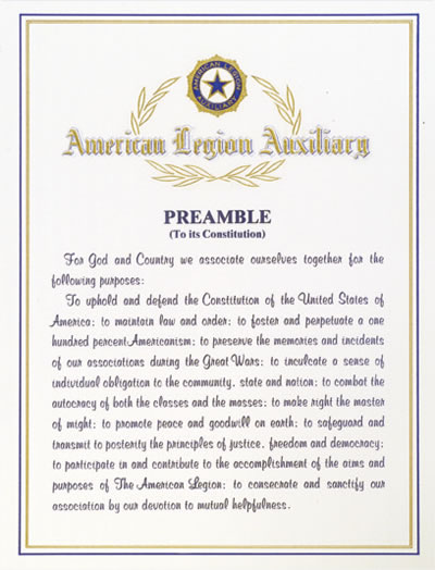 auxiliary preamble