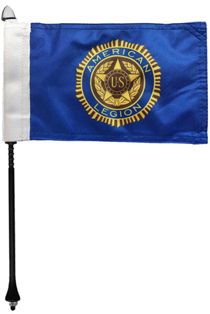 American Legion Motorcycle Flag Kit