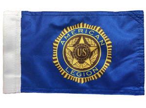 American Legion Replacement Motorcycle Flag