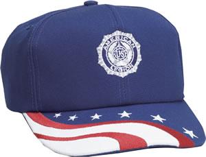 Caps (Casual)-American Legion Flag & Emblem