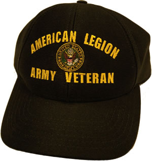 Army Veteran Logo Cap American Legion Flag Amp Emblem