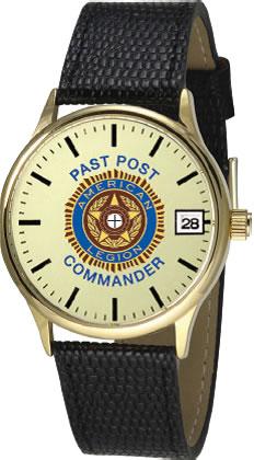 Past Post Commander Watch American Legion Flag Amp Emblem