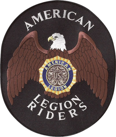 1-Line Legion Riders Back Patch