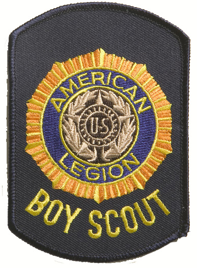 Legion Emblem Boy Scout Shoulder Patch