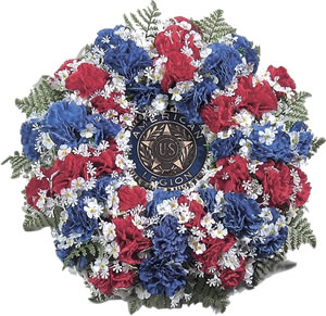 Wreaths Amp Crosses American Legion Flag Amp Emblem