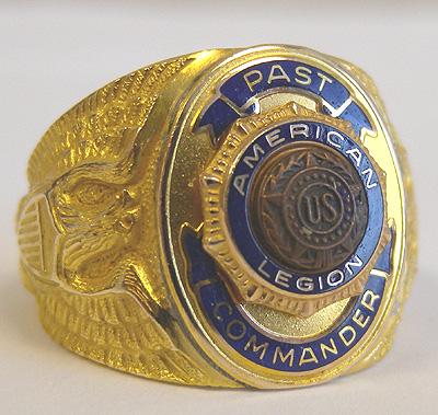 Rings American Legion Flag Amp Emblem
