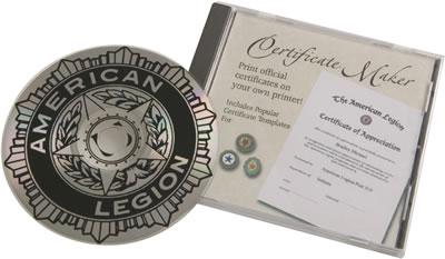 Certificates American Legion Flag Amp Emblem