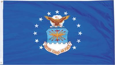 3 X 5 Outdoor Nylon Air Force Flag American Legion Flag