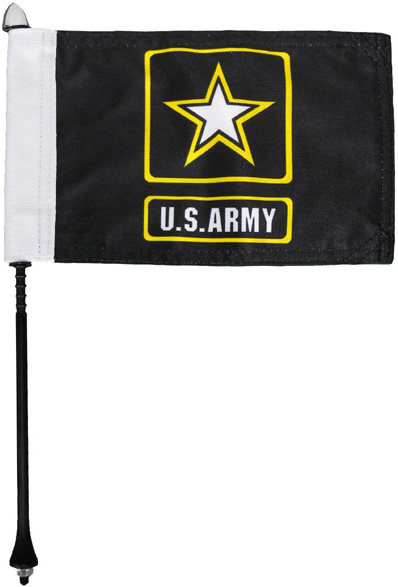Army Motorcycle Flag Kit