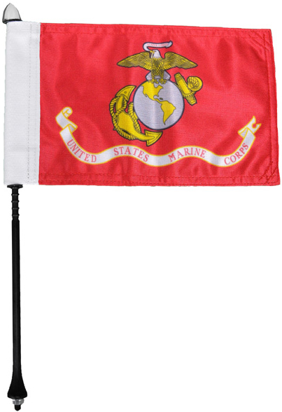 Marines Motorcycle Flag Kit