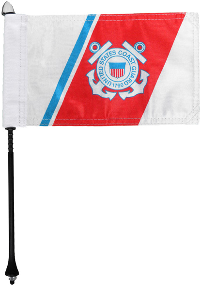 Coast Guard Motorcycle Flag Kit