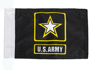 Army Replacement Motorcycle Flag