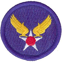 ARMY AIR CORPS INSIGNIA-American Legion Flag & Emblem