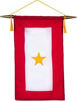 Gold Star Service Banner American Legion Flag Amp Emblem