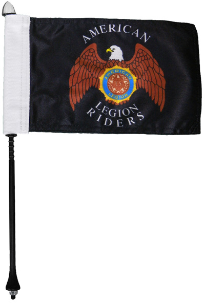 Legion Riders Motorcycle Flag Kit