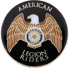 Legion Riders Lapel Tack