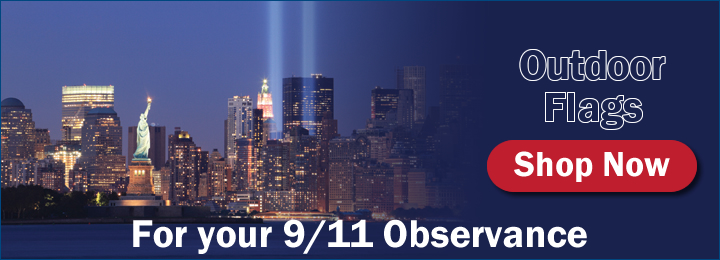 Outdoor American Flags For Your 9/11 Observance
