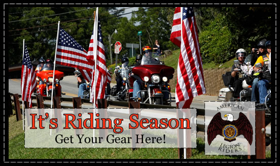 It's riding season - get your gear here!