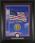 Pledge of Allegiance Print with Half Dollar