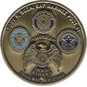 Tony F. Soza/Ray Marinez Post 41 Coin