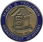 Terry G. Troutman Coin